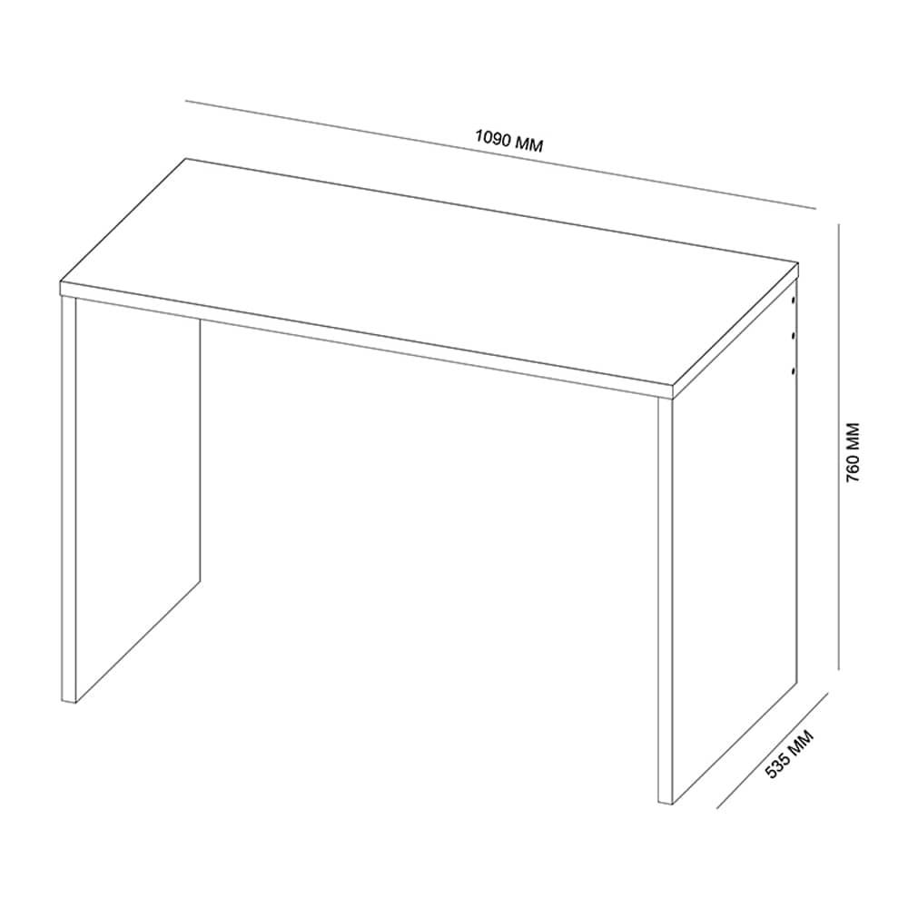 Escrivaninha Office Presence 29300 Branco - Demóbile