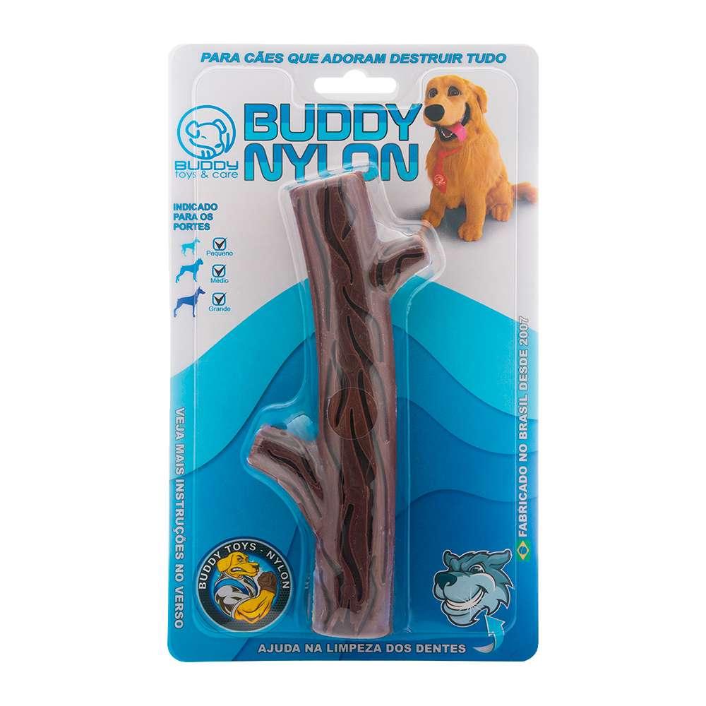 Graveto Nylon Brinquedo Mordedor - Buddy Toys