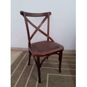 Conjunto 6 cadeiras assento estofado