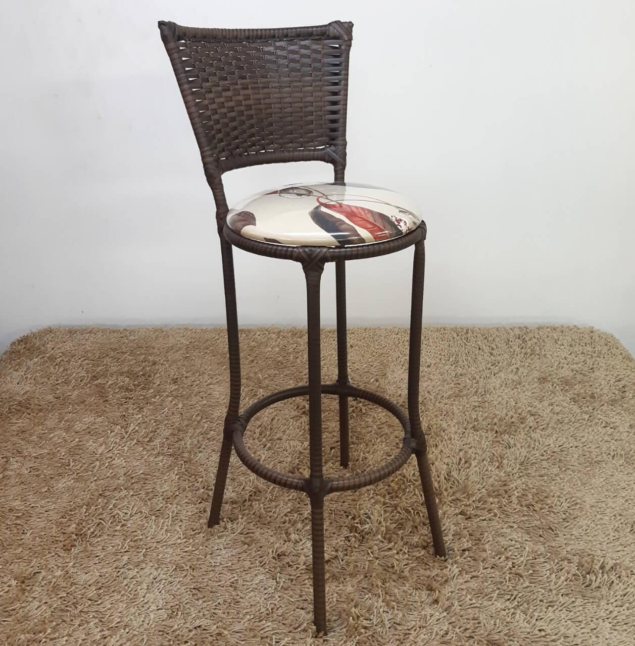 Banqueta Fibra Sintética Artdesign06