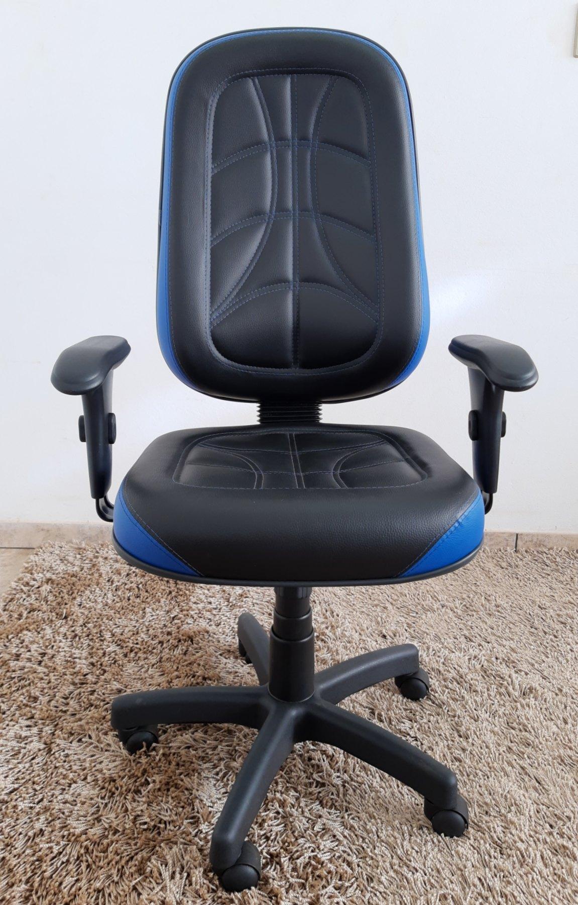 Cadeira Presidente Giratória Gamer Micheloffice01