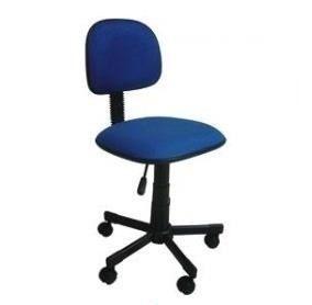 Cadeira Secretária Giratória Tecido