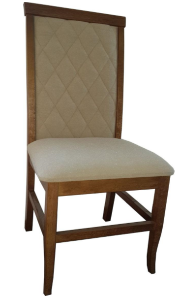 Conjunto 6 cadeiras estofadas