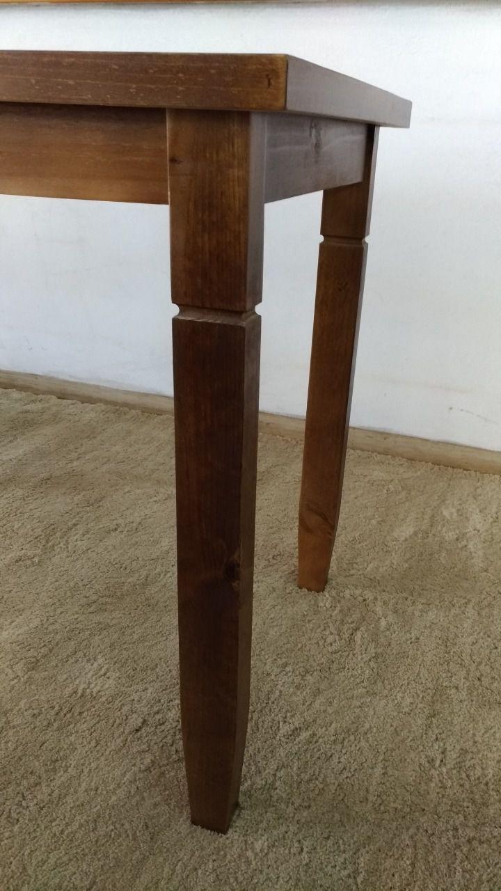 Mesa 1,10 x 0,60 Madeira Maciça Rústica Bocarica230