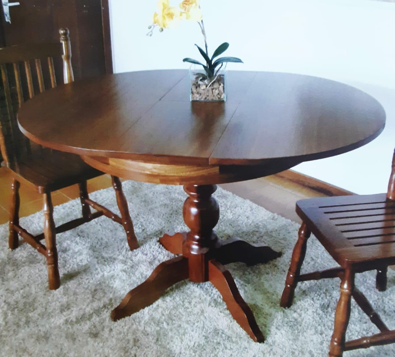 Mesa Elástica Madeira Maciça