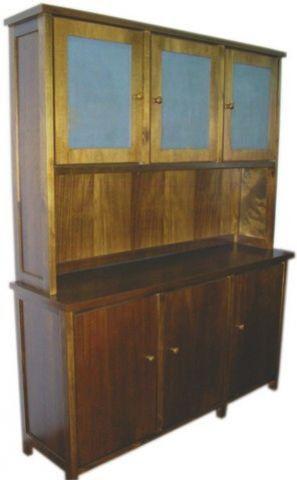 Oratório 3 portas com Balcão Madeira Maciça