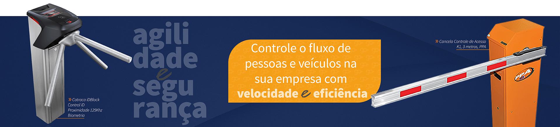 catraca idblock braÇo articulado inox control id proximidade 125khz + biometria