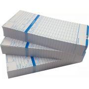 Cartão de Ponto Relógio Cartográfico - 300 Unidades