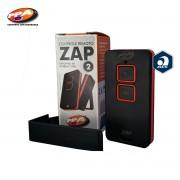Controle Remoto PPA ZAP - Portão Alarme Cerca Elétrica 433MHZ 2b (Preto / Laranja)