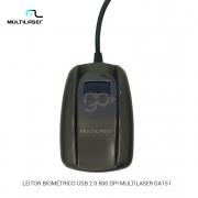 Leitor Biométrico Digital Multilaser GA151