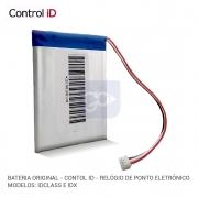 NOBREAK - Bateria para Relógio de Ponto Eletrônico Control iD iDClass