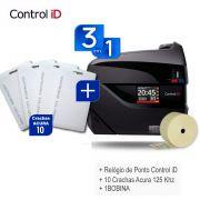 Relógio Ponto Biométrico iDClass 1510 + Acura 125Khz + 1 BOBINA)
