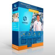 Software Sonoda Ponto p/ 200 Usuários Com Suporte