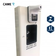 Totem Com Álcool Gel Termômetro Digital Came