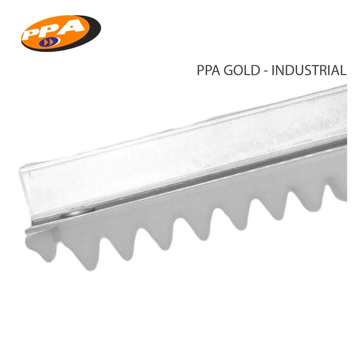 Barra Cremalheira Gold Industrial Trilho Alumínio-Portão Deslizante-Ppa3m
