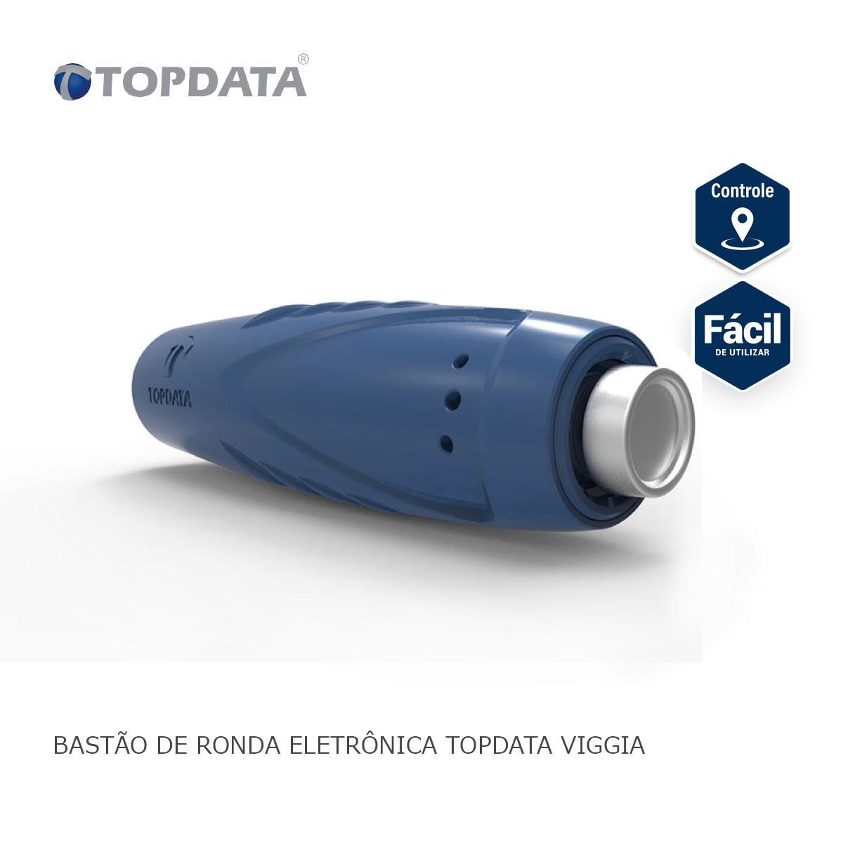 Bastão de Ronda Eletrônica Topdata Viggia + 6 iButtons