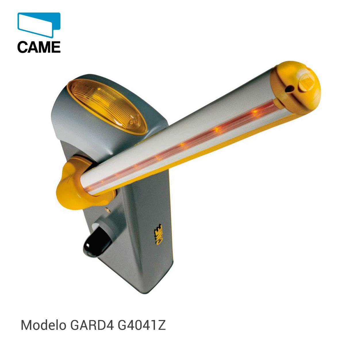 Cancela Controle de Acesso Gard 4 com 4 mt Came  - GO AUTOMAÇÃO
