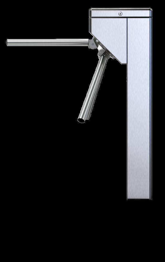 Catraca iDBlock Inox Control iD Prox 125khz + Bio - Braço Articulado  C/Urna  - GO AUTOMAÇÃO