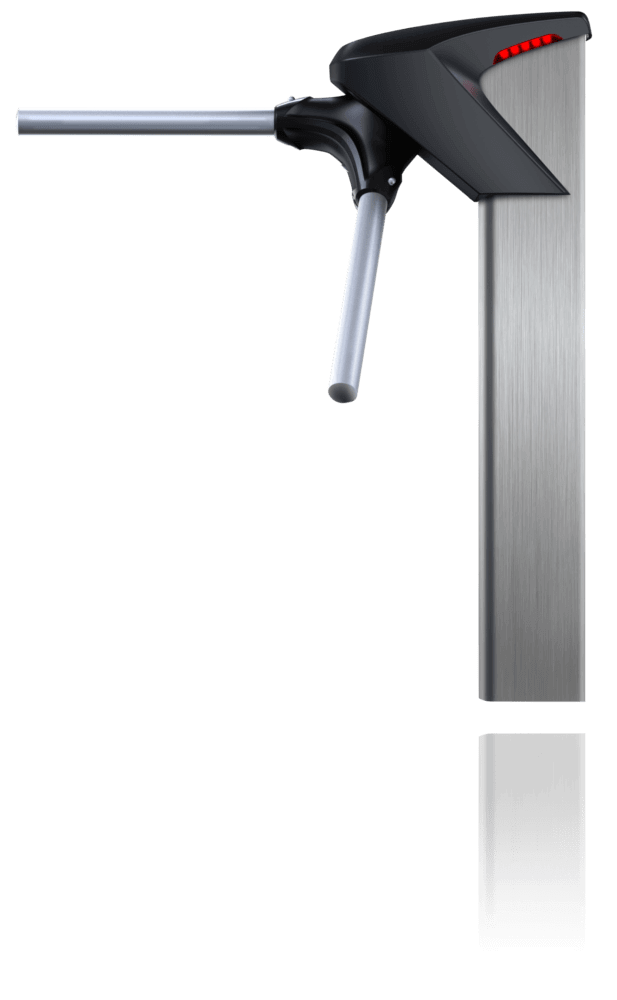 Catraca iDblock Inox Control iD Proximidade 125Khz + Biometria S/ Urna  - GO AUTOMAÇÃO