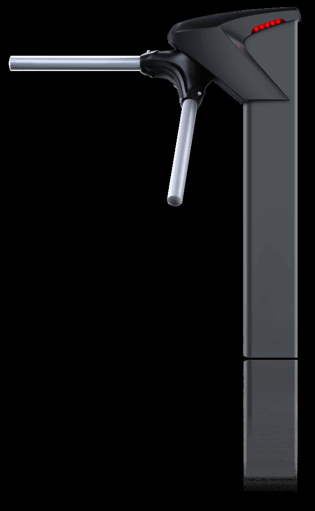 Catraca iDBlock Preta Control iD Proximidade 125Khz Biometria S/Urna