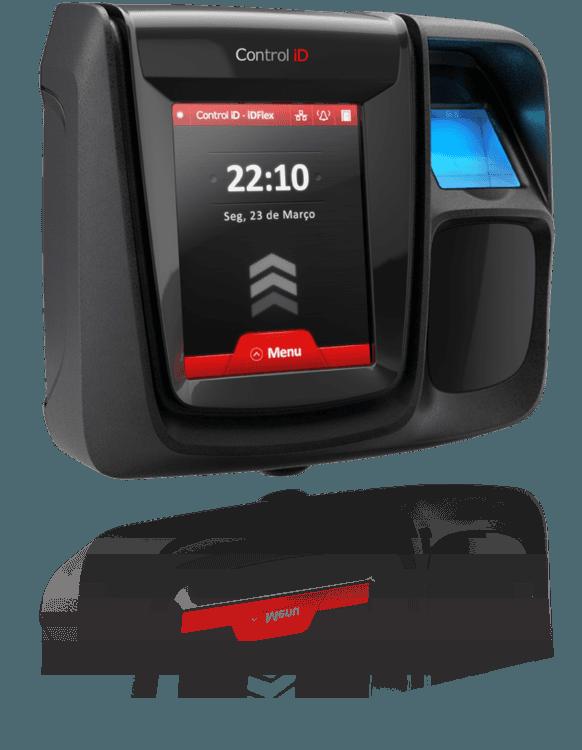 Controle de Acesso Control iD - iDFlex PRO BIO/PROX   - GO AUTOMAÇÃO