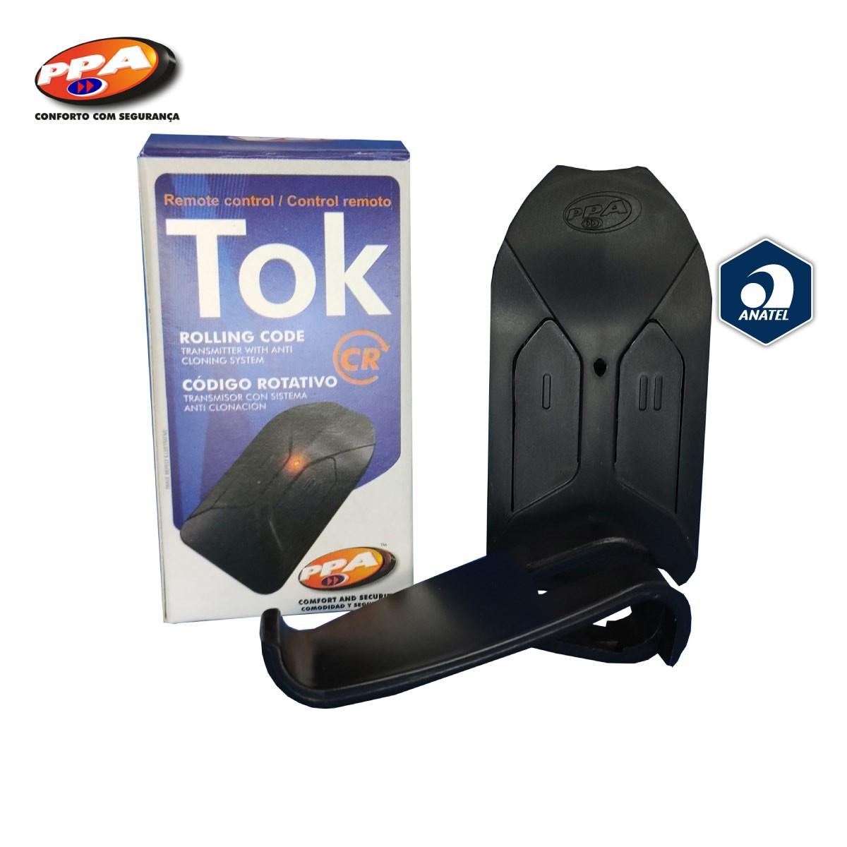Controle Remoto PPA TOK - Portão Alarme Cerca Elétrica 433MHZ