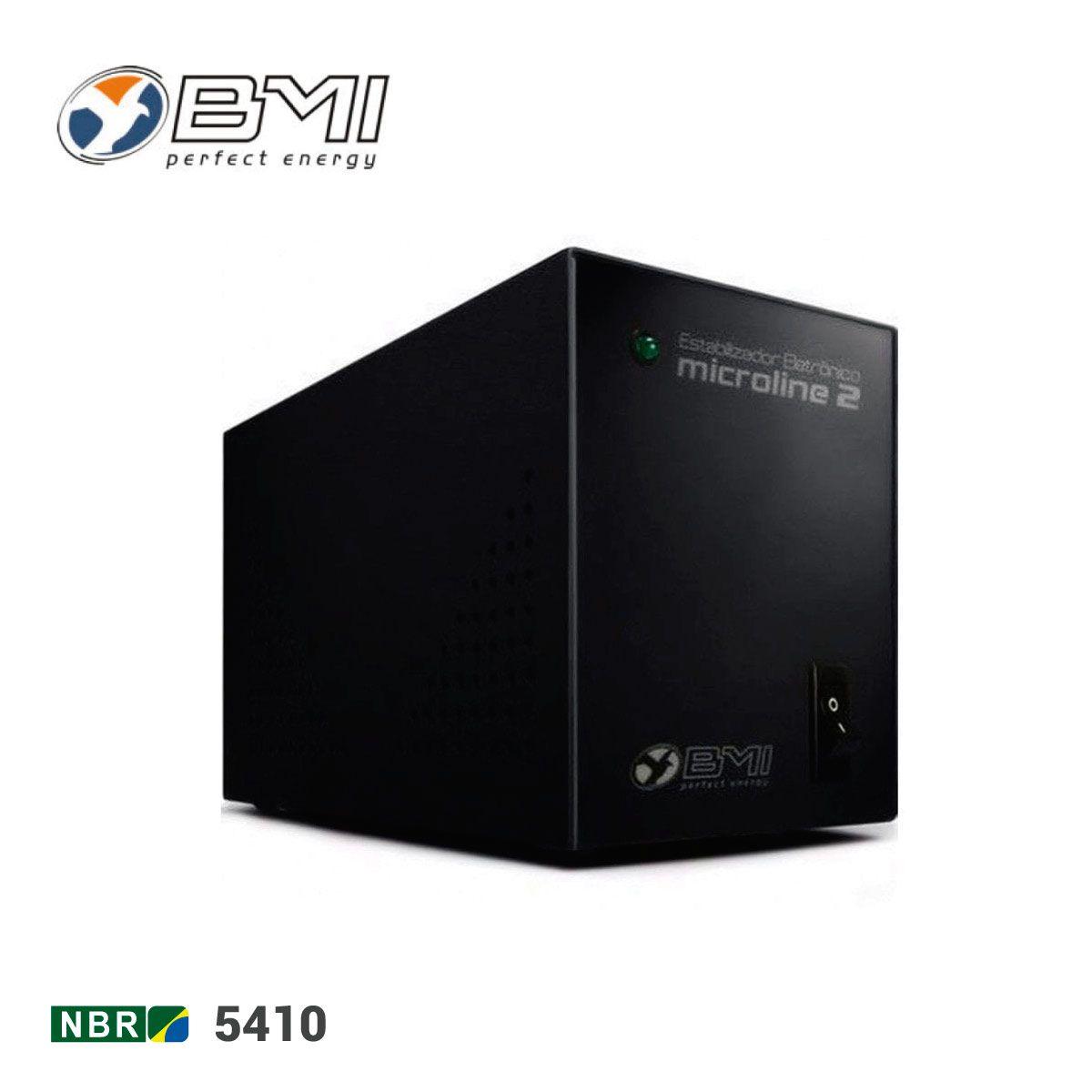 Estabilizador 300va Bivolt BMI Saída 115v/ Bivolt