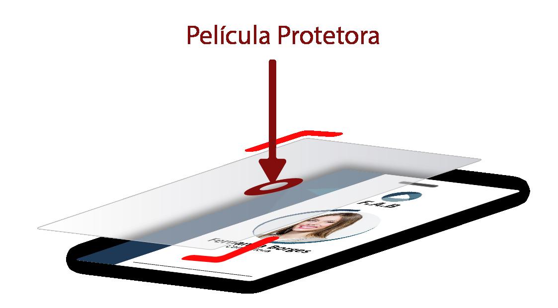 Película Protetora para Crachá 100% Transparente 50 Unidades  - GO AUTOMAÇÃO