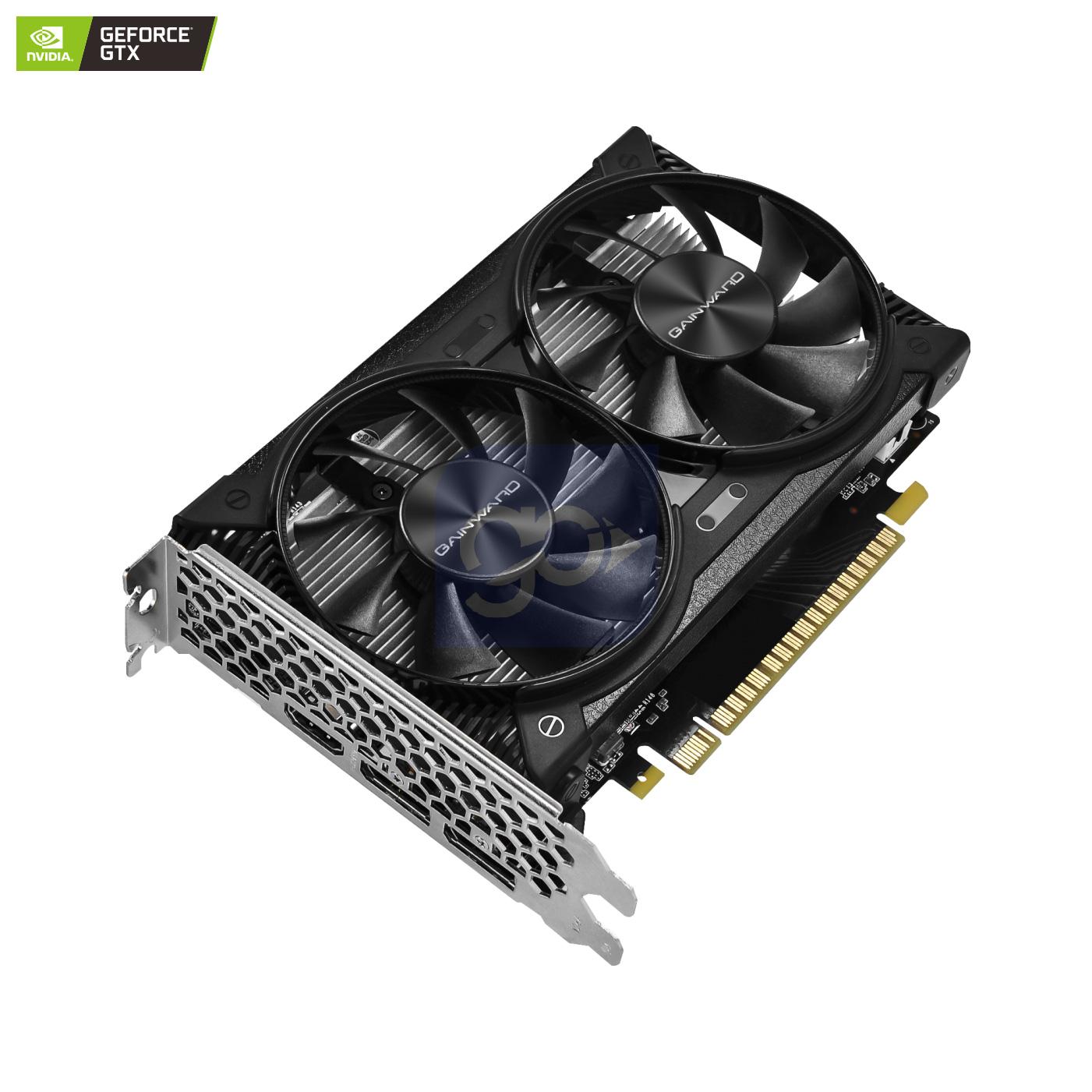 Placa de Vídeo Gainward NVIDIA GeForce GTX 1650 Ghost, 4GB, GDDR6 - NE6165001BG1-1175D  - GO AUTOMAÇÃO