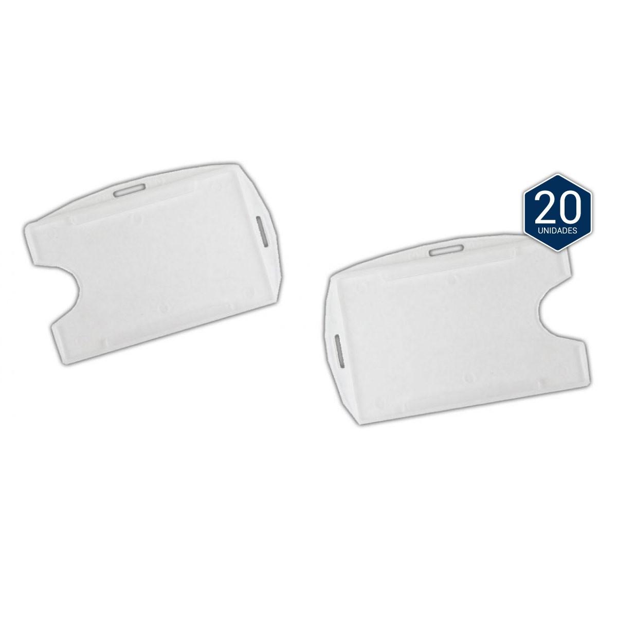 Protetor Plástico para Crachá c/ 20 Unidades