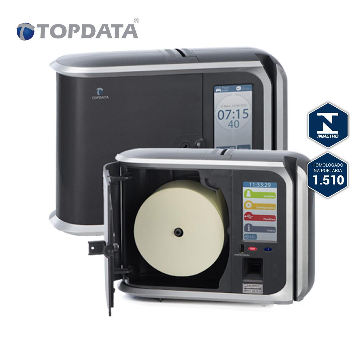 Relógio De Ponto 1510 TOPTADA Inner Rep Plus Lc Bio/Prox