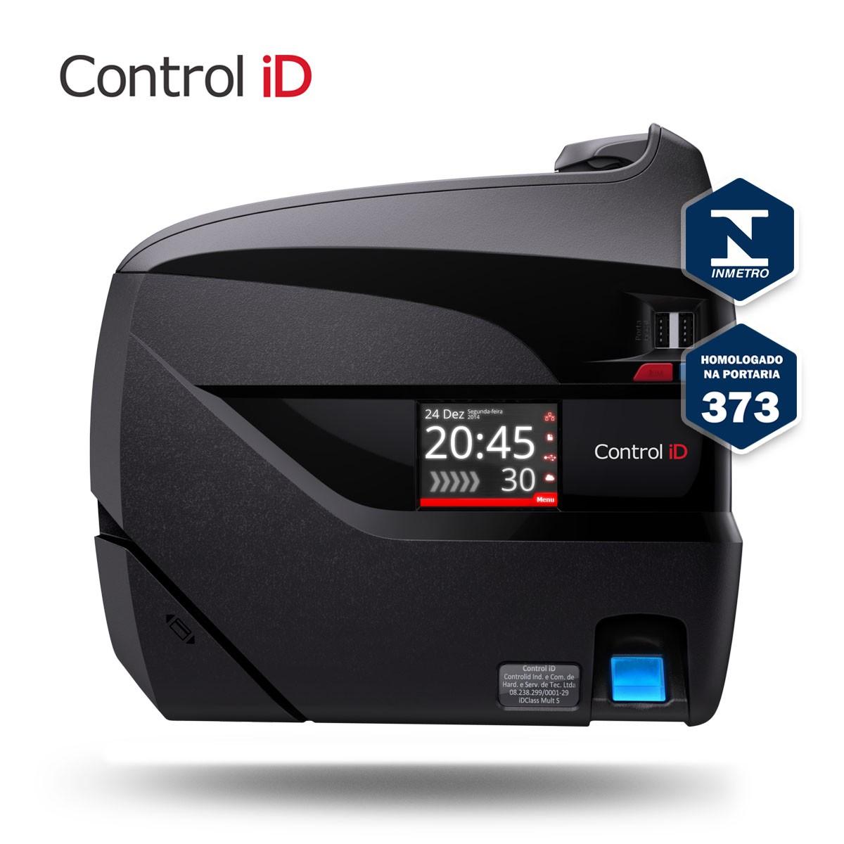 Relógio de Ponto Eletrônico iDClass 373 Biométrico + Prox Control iD