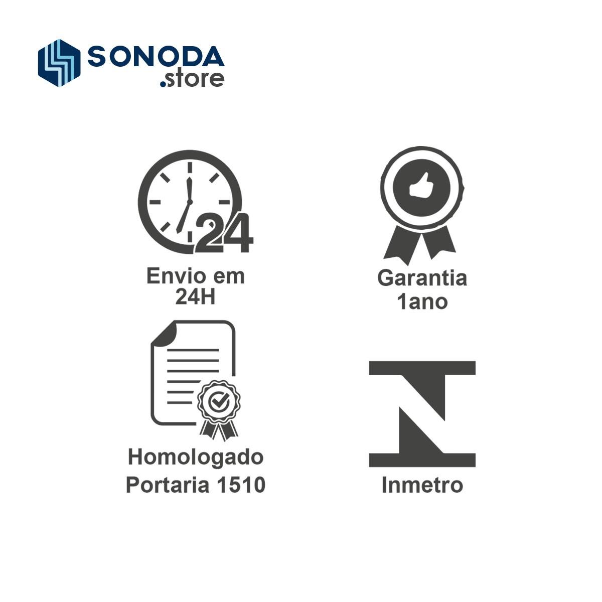 Relógio Ponto Biométrico iDClass 1510 + Acura 125Khz + 1 BOBINA)  - GO AUTOMAÇÃO