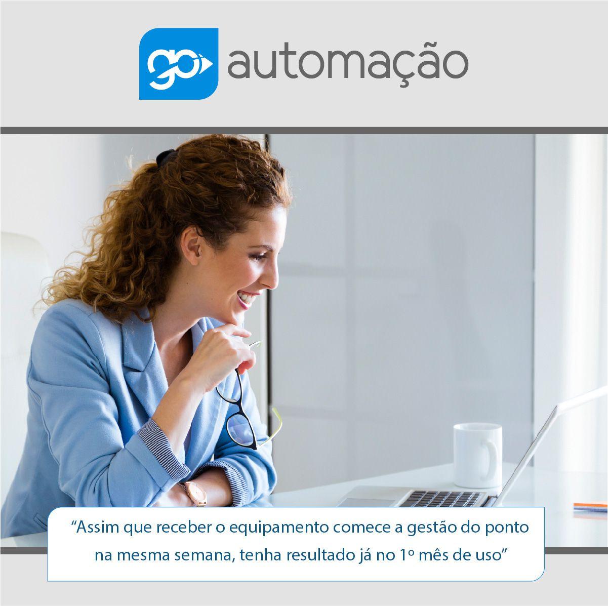 Relógio Ponto iDClass Bio+Pro 1510 + Contrato Mensal (CONTROL ID +1 BOBINA+SECULLUM)