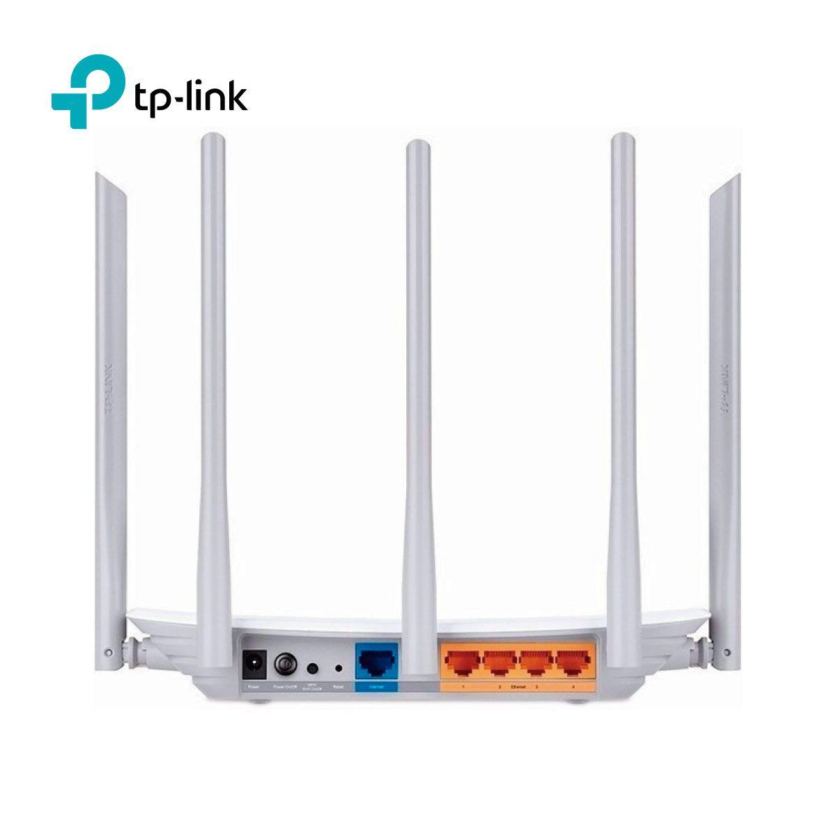 Roteador Wireless TP-Link TL-AC1350 Archer C60 5Antenas  - GO AUTOMAÇÃO