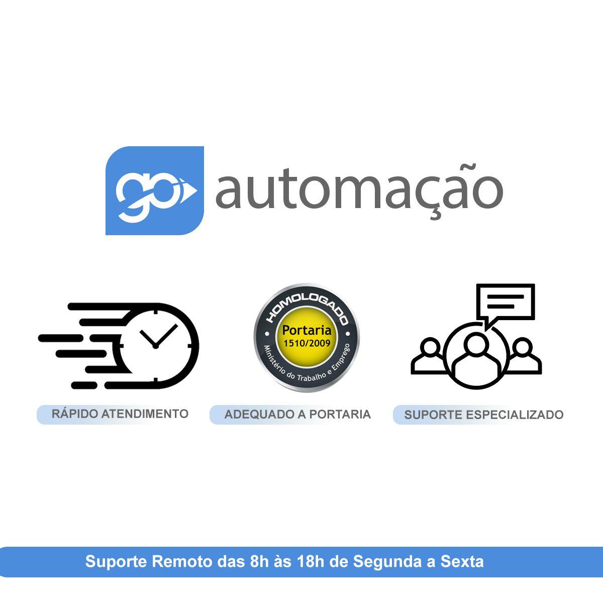 Software de Controle de Ponto Secullum Ponto 4 p/ 400 Usuários Com Suporte