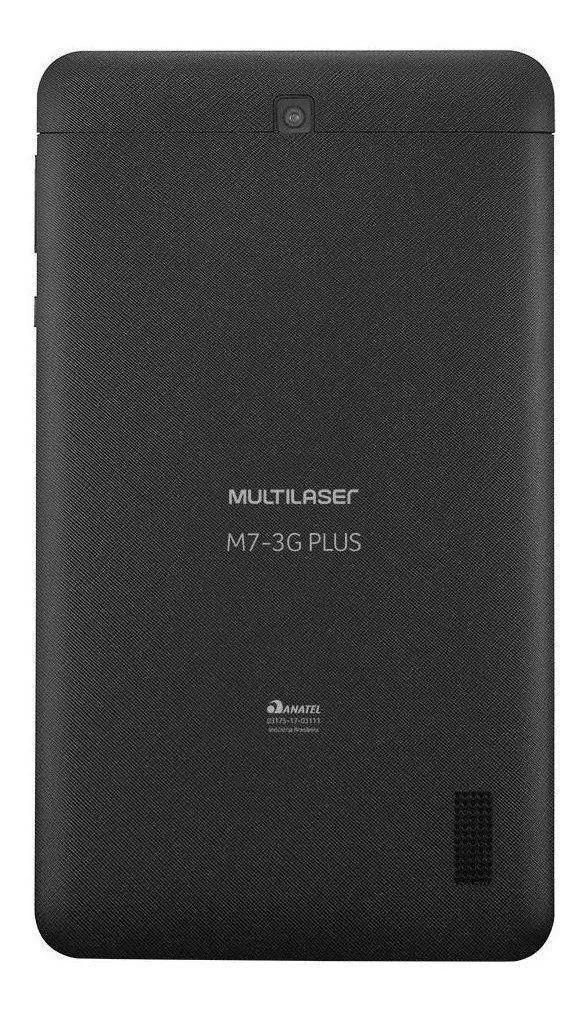 "Tablet Multilaser M7 Plus+ 3G Wifi 16gb 7"" Preto Nb304  - GO AUTOMAÇÃO"