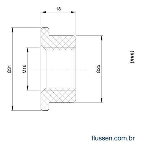 Kit 10 Sensor Nível La16m-40 Icos + 10 Adaptador Pvc