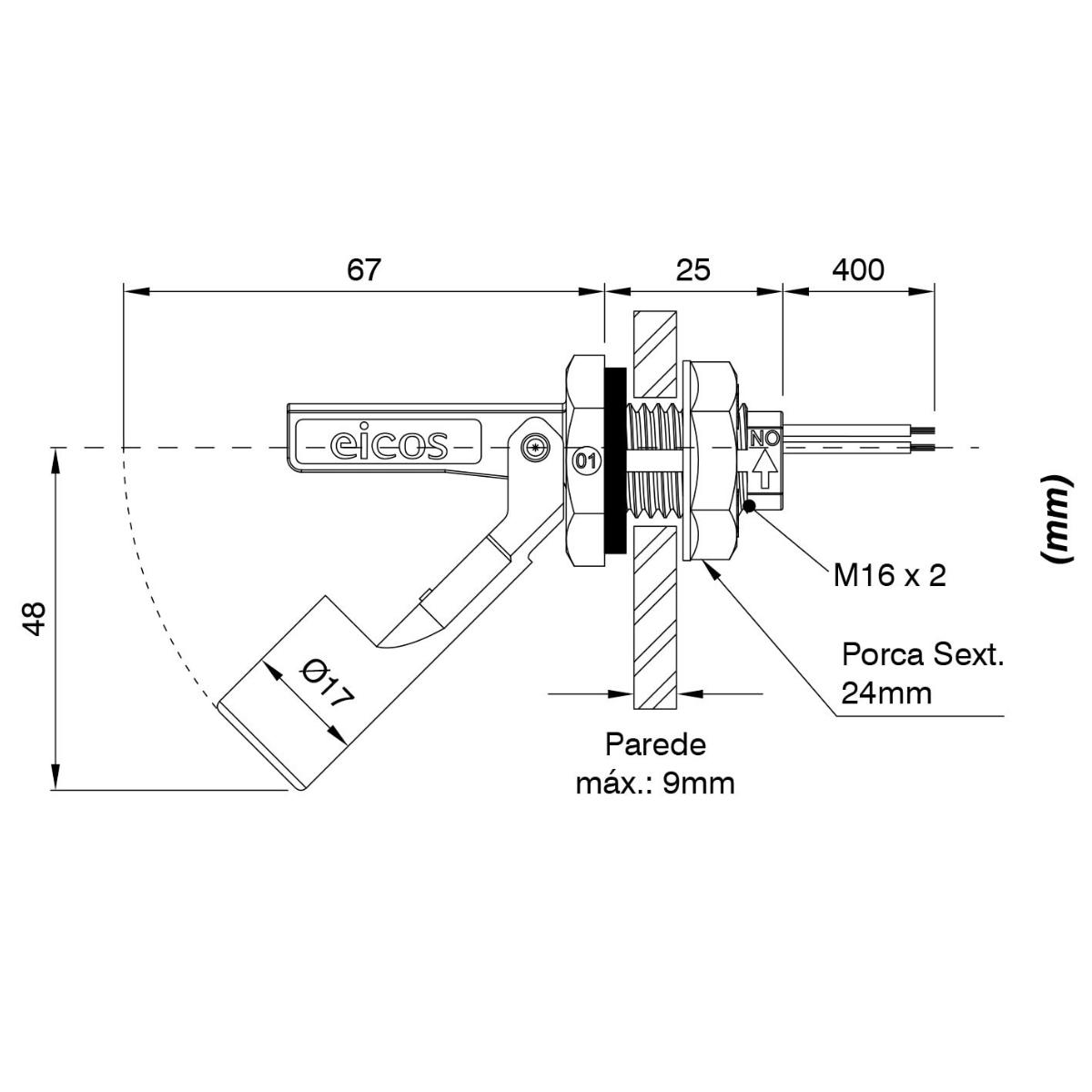 Kit 06 LA16M-40 + Brinde