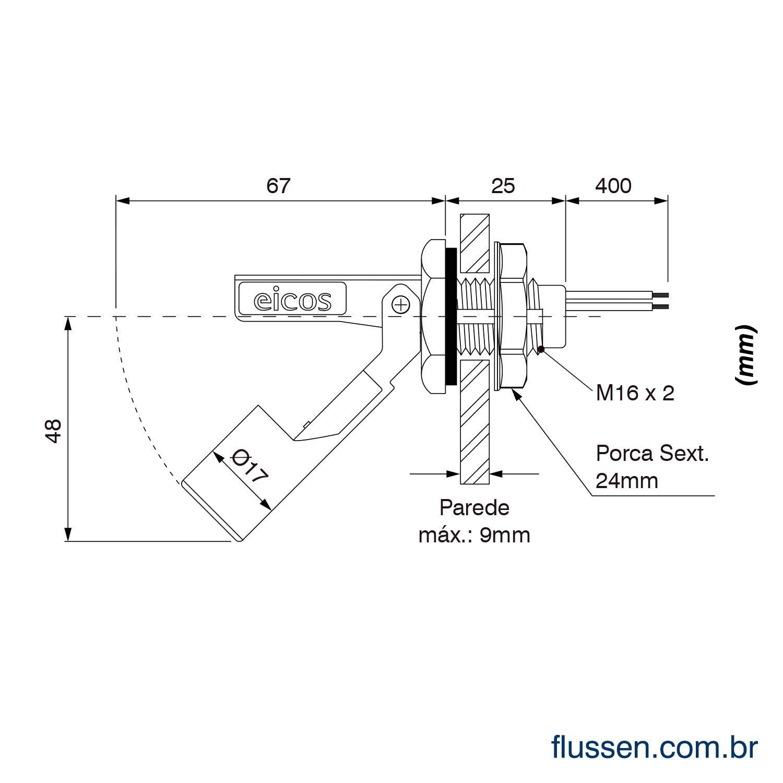 Kit Controle Automático de Nível (LA16M-40)