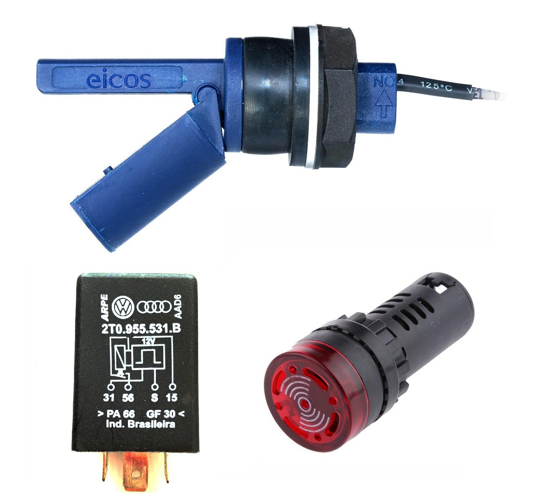 Kit Controle De Nível Para Radiador Lf222e-40 Icos + Sonoro