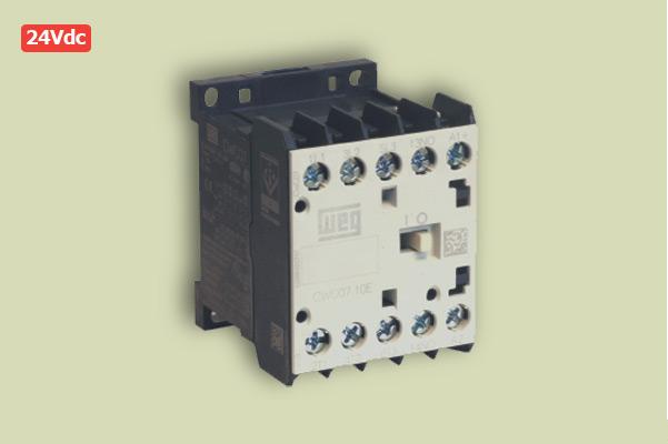 Mini Contator Weg CWC07 24V