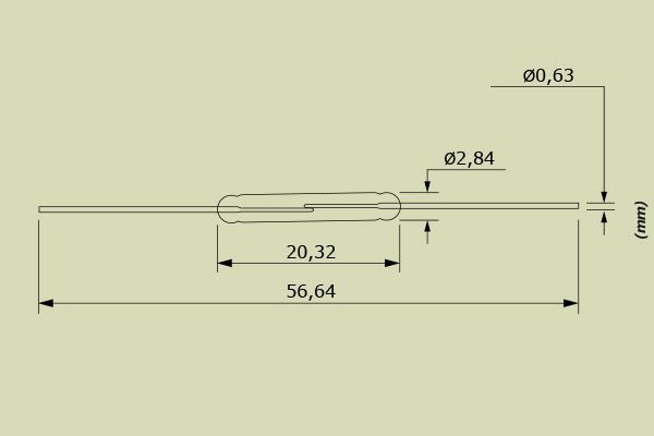 Reed Switch Hamlin MRPR-20-22-33