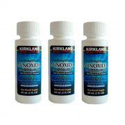Minoxidil Kirkland 5% Barba e Cabelo para 3 Meses