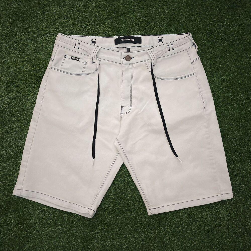 Bermuda jeans claro hocks principio large