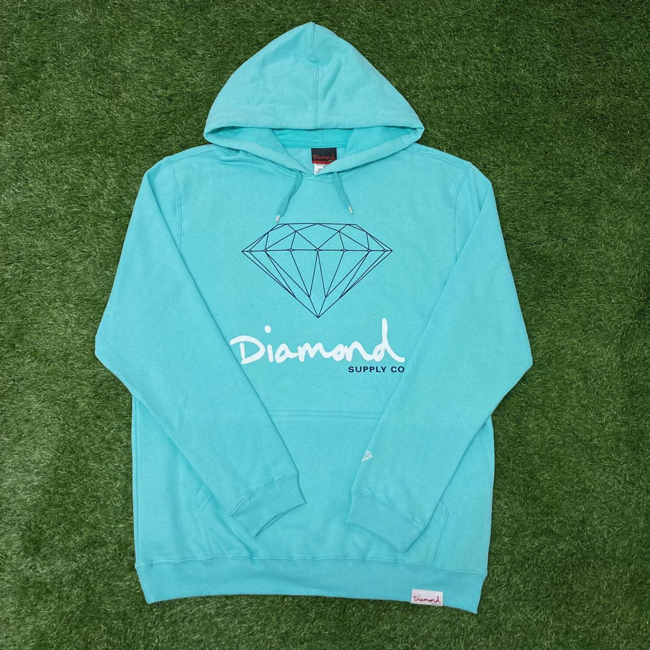 Blusa moletom diamond og sign hoodie tiffany