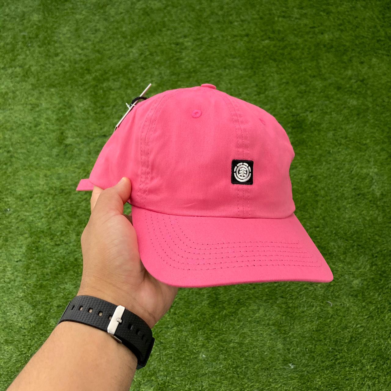 Boné element fluky dad hat rosa
