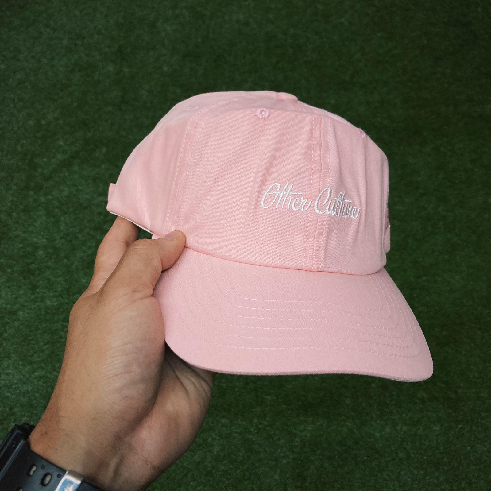 Boné Other Culture  aba curva rosa Dad Hat  Basic Signature Pink 759