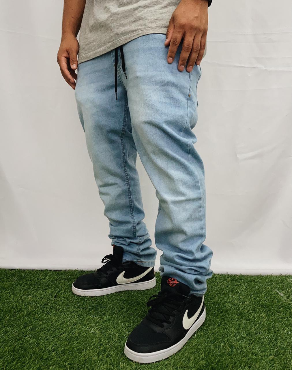 Calça element jeans essentials azul claro