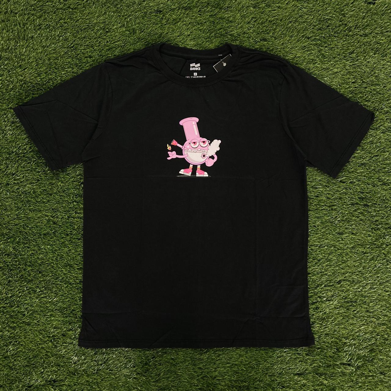 Camiseta banks bong preta